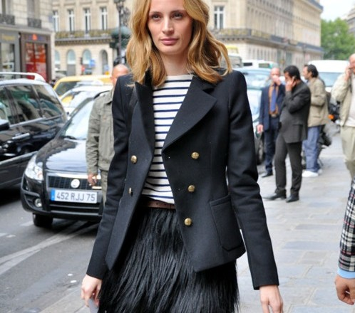 LaurenSantoDomingo_Paris_Street-Style-full-of-Stripes_fashion-Trend-2015_portraitsofelegance-498x440