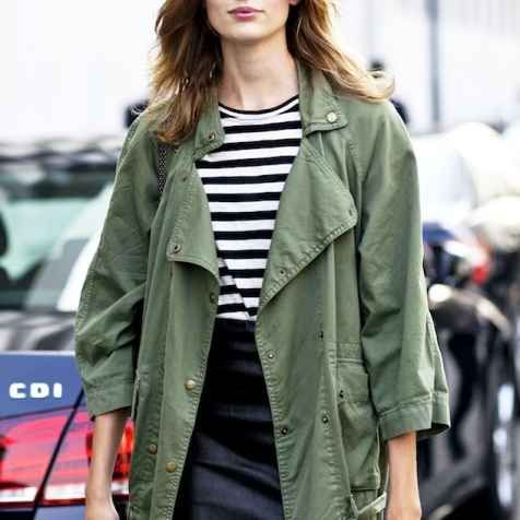 Le-Fashion-Blog-Model-Off-Duty-Milan-Street-Style-Bette-Franke-Green-Army-Jacket-Black-Leather-Mini-Skirt