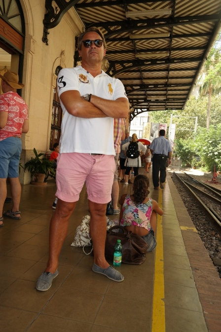 Tog tur fra Palma til Soller