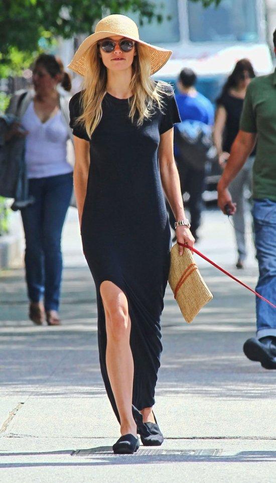 Jessica-Hart maxi-dress