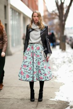 floral-midi-skirt-grey-sweater-moto-jacket-sweaters-and-skirts-booties-black-booties-tights-winter-fall-turtleneck-sweater-fall-pastels-summer-into-fall-viathenletitbe.blogspot.com_